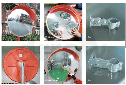 buy Safety Convex mirrors for indoor and outdoors