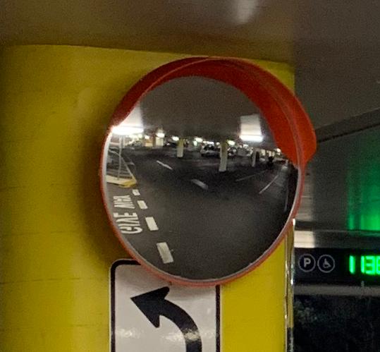 outdoor convex mirror polycarbonate