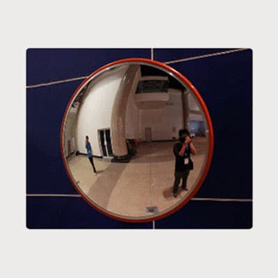 Indoor Polycarbonate convex mirror