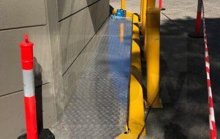 yellow mark tape