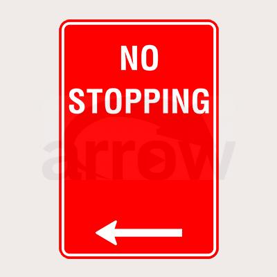 No Stopping Signal Board