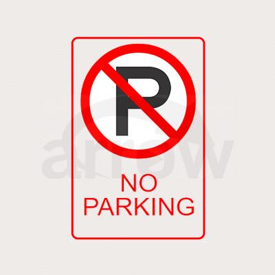 noparking sign
