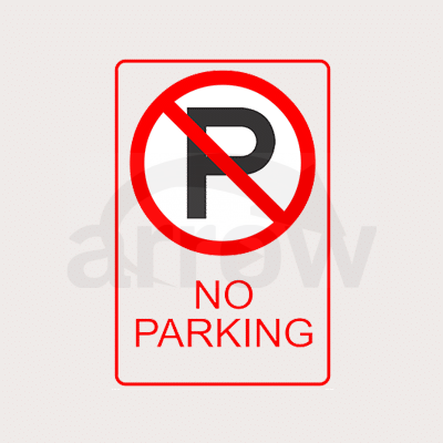 noparking sign