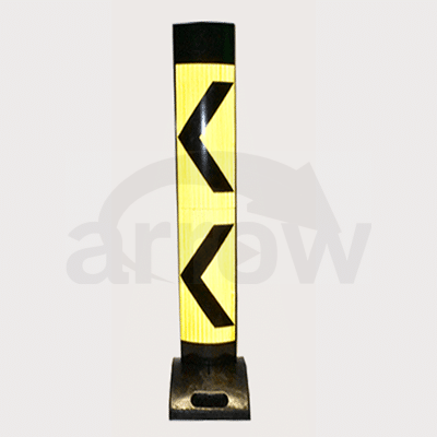 Traffic Delineator Yellow/Black