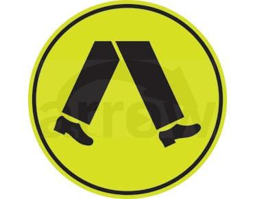 road sign pedestrian crossing