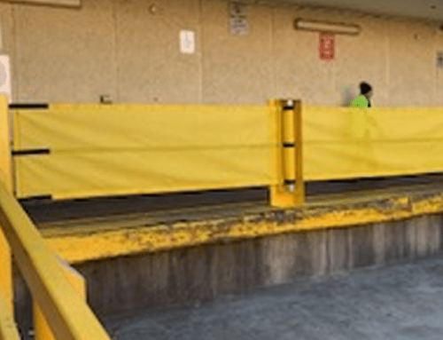 Loading Dock Safety Installation for Castle Towers Shopping Centre, Castle Hill, NSW