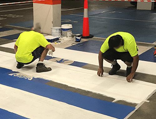 Car Park Pedestrian Crossing Painting Tasks by ArrowTraders