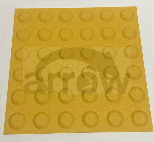 yellow tactile mats