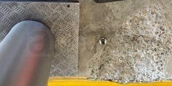 Damaged Concrete