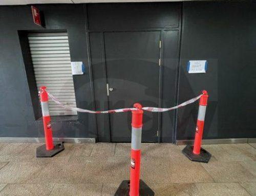 Replacing Storeroom Door at Top Ryde Shopping Centre